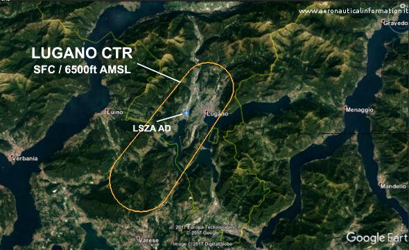 La Control Zone di Lugano