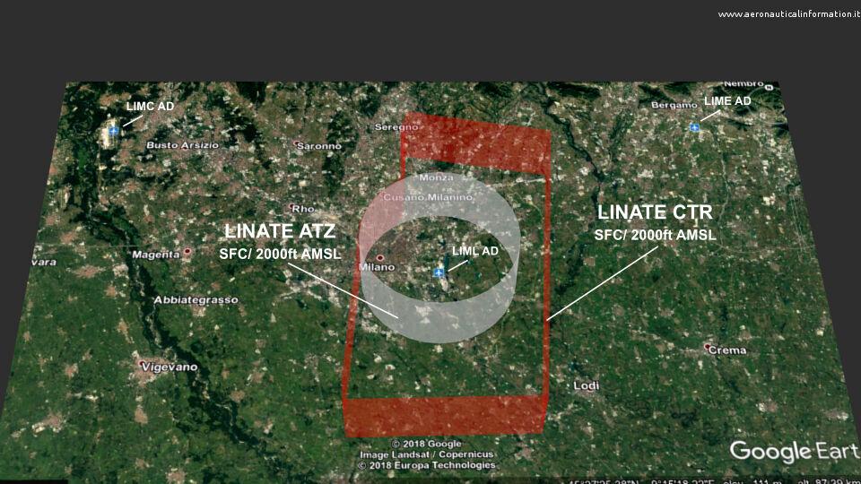 La Control Zone di Linate