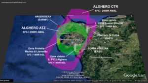 La Control Zone di Alghero