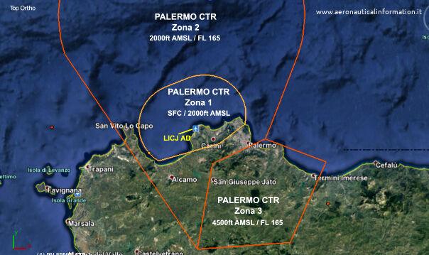 Control Zone di Palermo