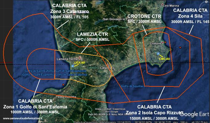 Control Area Calabria