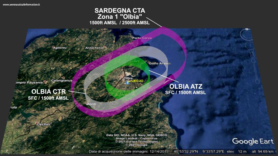 Control Zone di Olbia